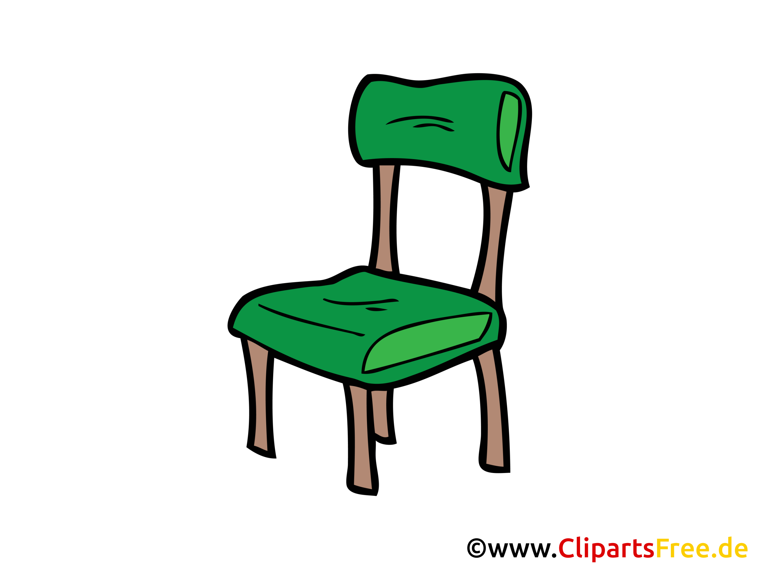 Sessel clipart  Gegenstände Bilder, Cliparts, Cartoons, Grafiken, Illustrationen ...