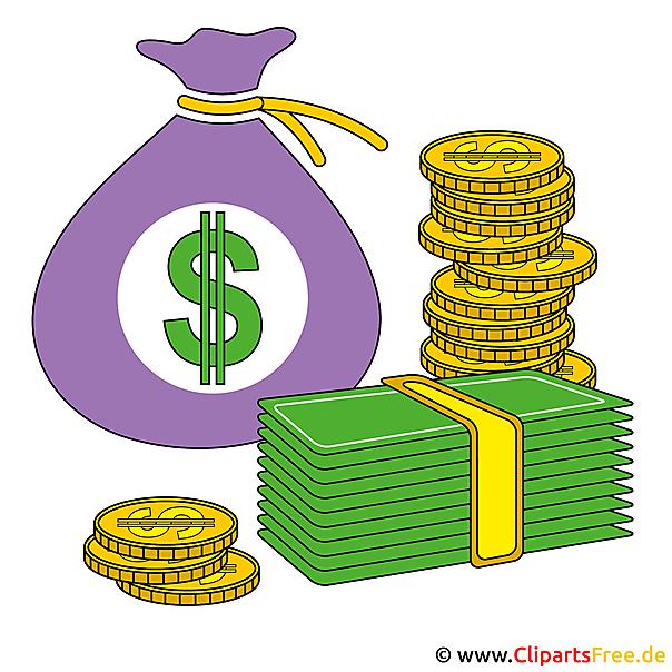 Clip kunst geld