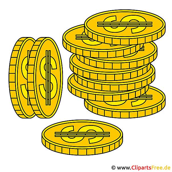 Münzen Clipart
