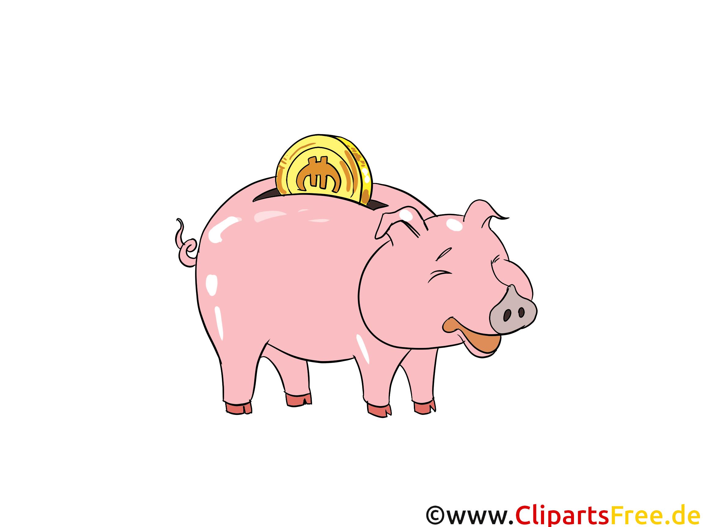 Piggy bank clip art free