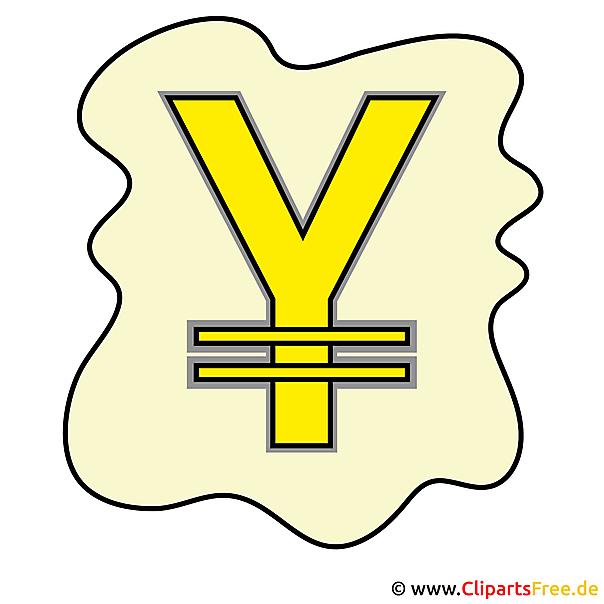 Yen Bild - Clipart gratis