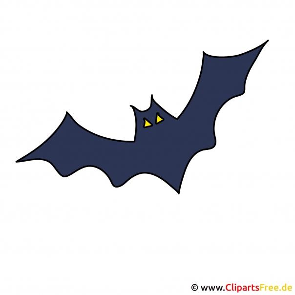 Cartoon Fledermaus - Gif zu Halloween