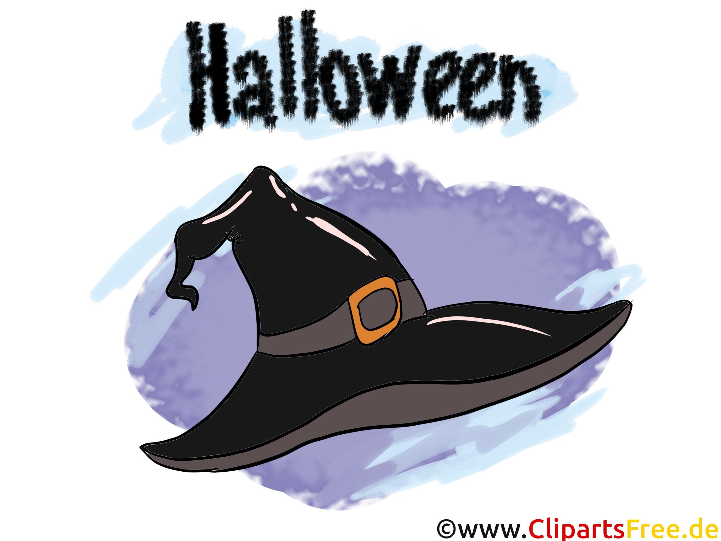 Clipart Wizard Witches Hat - Illustraties, afbeeldingen, clipart, strips en cartoons voor Halloween