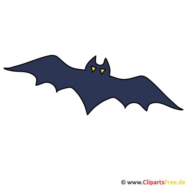 Fledermaus Cartoonbild