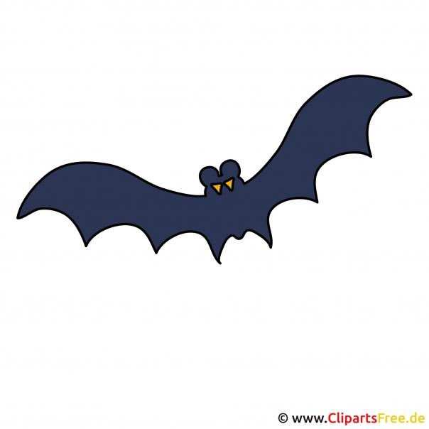 Gif naar Halloween vleermuis