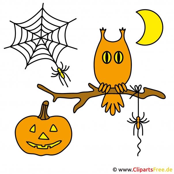 Halloween Deko selbstgemacht mit unseren kostenlosen Bildern