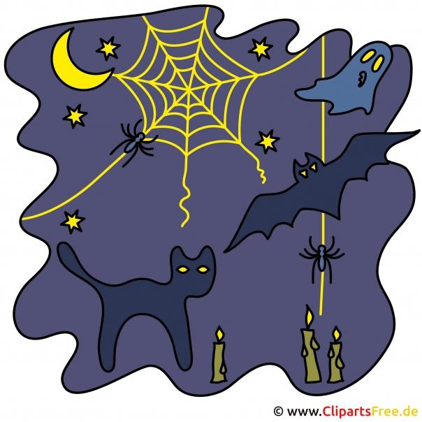Halloween Deko Tipps mit unseren Cliparts