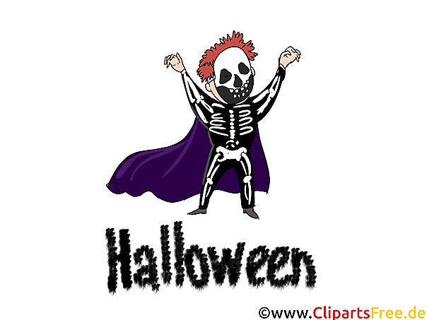 Halloween Verkleidung - Illustrationen, Bilder, Grafiken, Cliparts, Comics, Cartoons zu Halloween