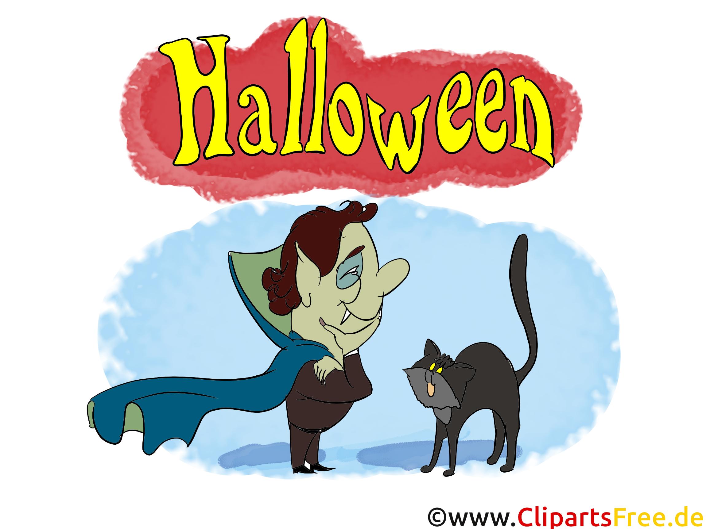 Haloween Clipart - Illustrationen, Bilder, Grafiken, Cliparts, Comics, Cartoons zu Halloween