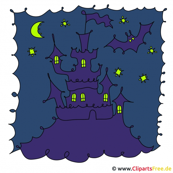 Schloss Clipart, Bild, Grafik, Illustration gratis