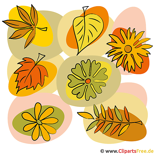 Clip Art Herfst gratis te downloaden en te printen