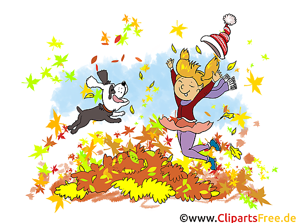 Gratis Bilder Frohe Kinder Im Herbst