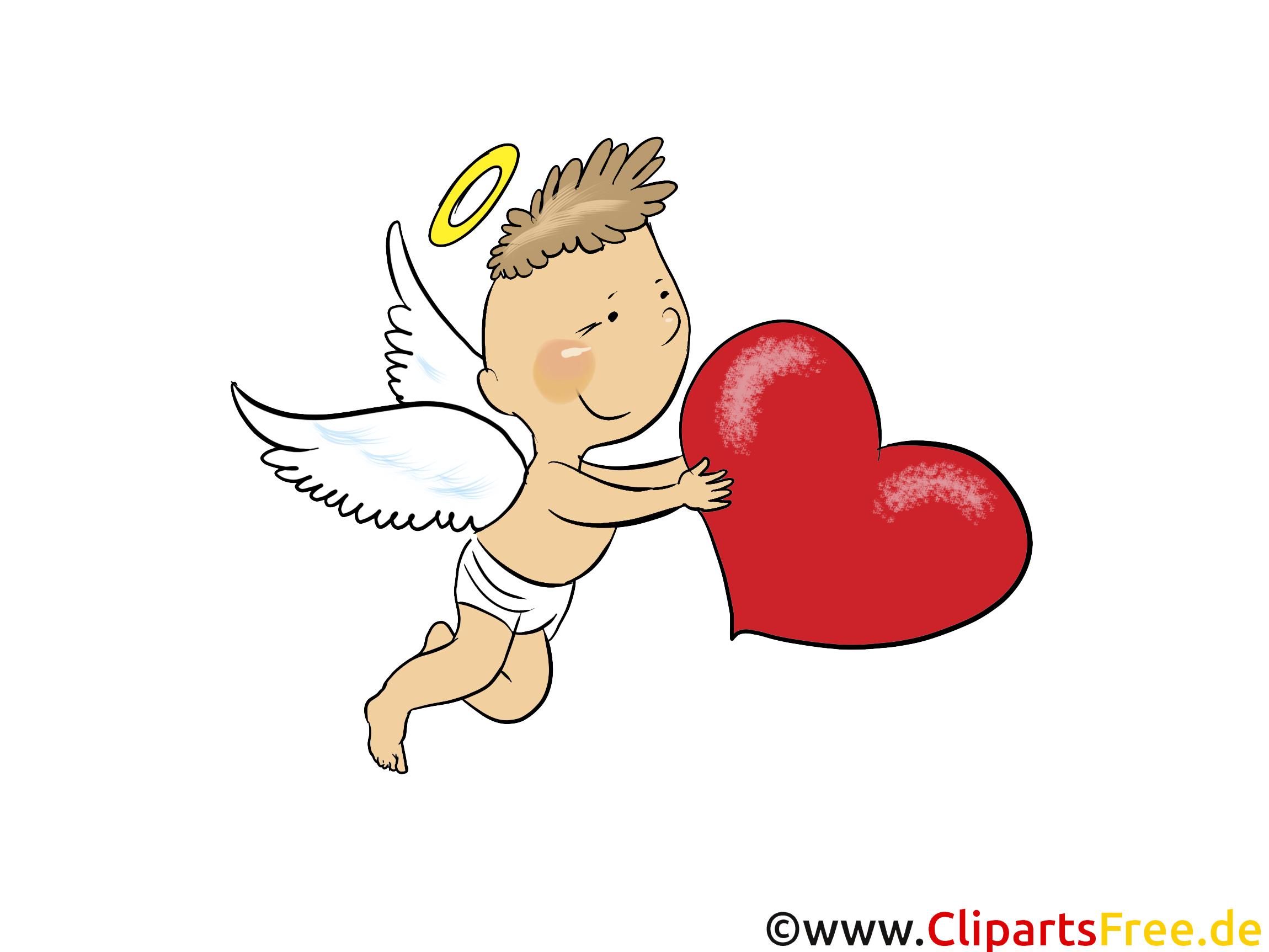 E Cards Liebe Amore Engel Herz