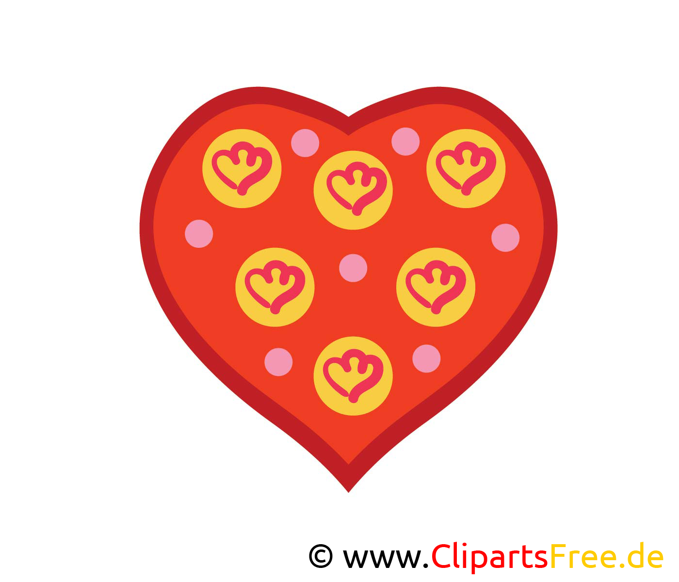 Herz Bild, Clip Art, Image, Grafik, Illustration gratis