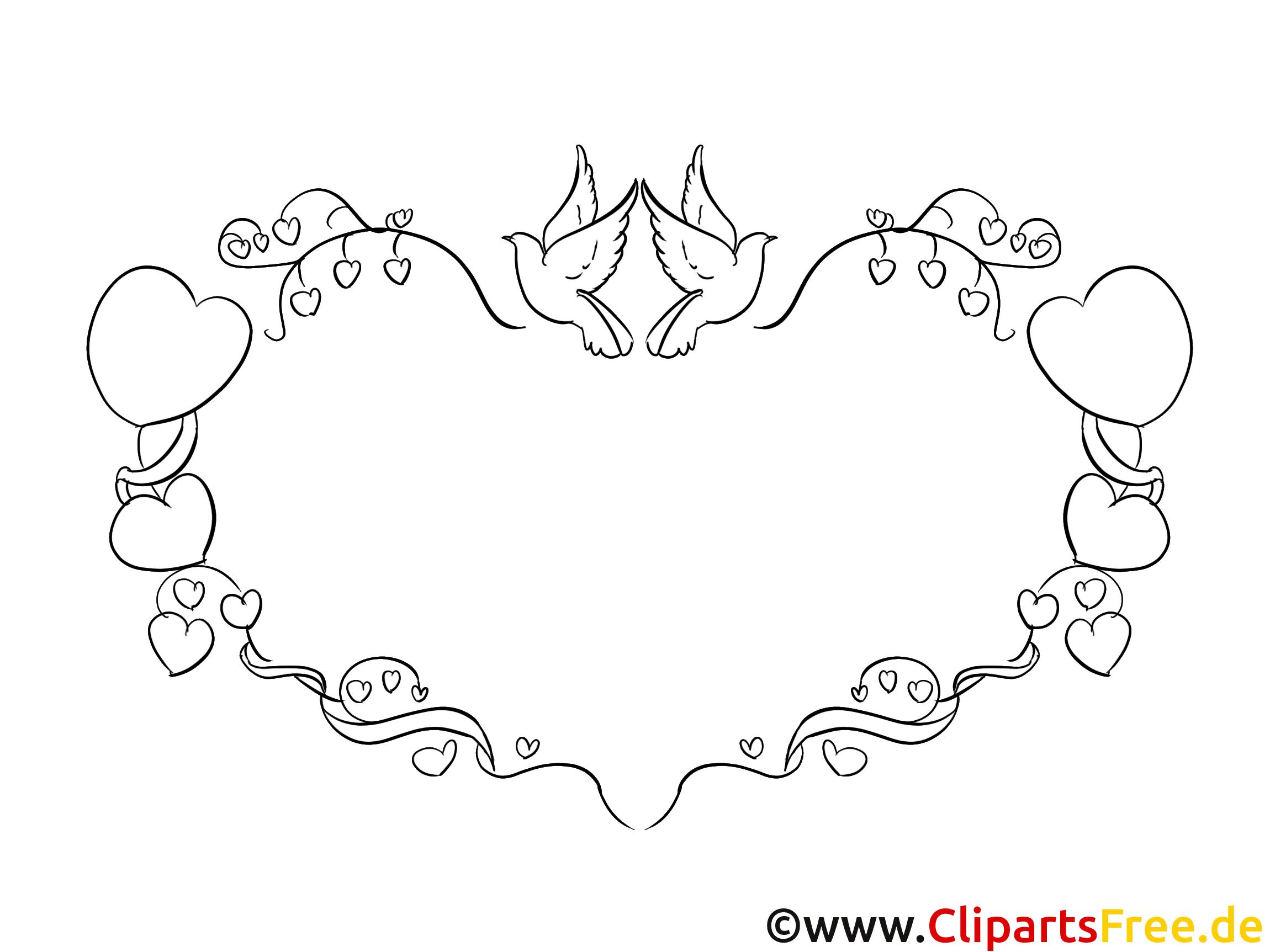 Herz, Liebe, Rahmen, Bilderrahmen