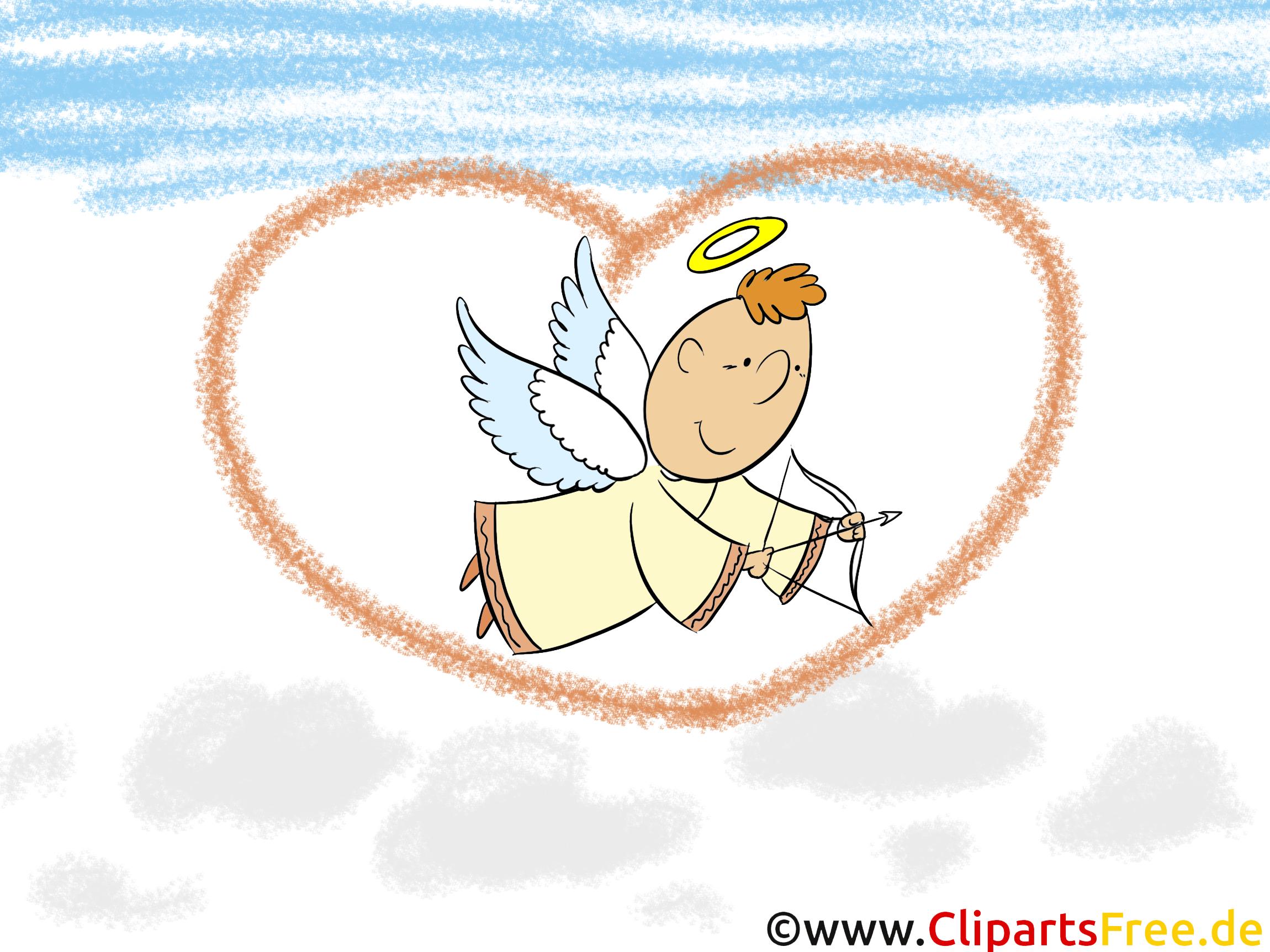 恋の天使の背景 デスクトップ用の壁紙