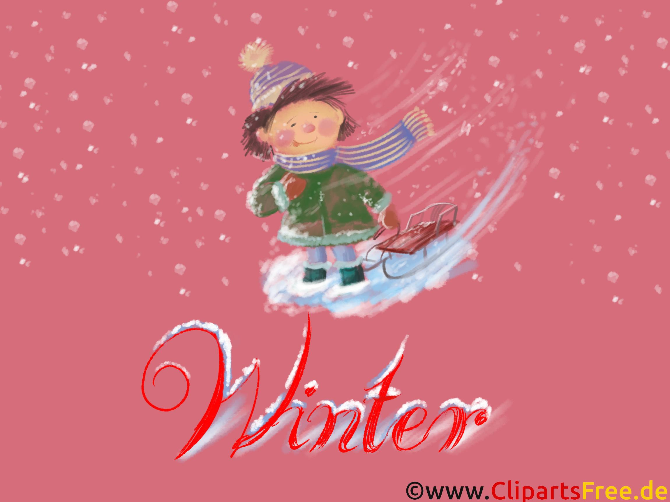 Bildschirmhintergrund Junge, Winter, Schnee, Weihnachten, Silvester