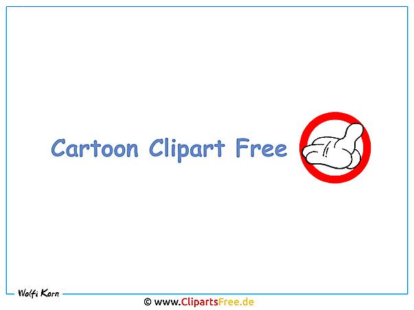 Cartoon Cliparts free zum Herunterladen