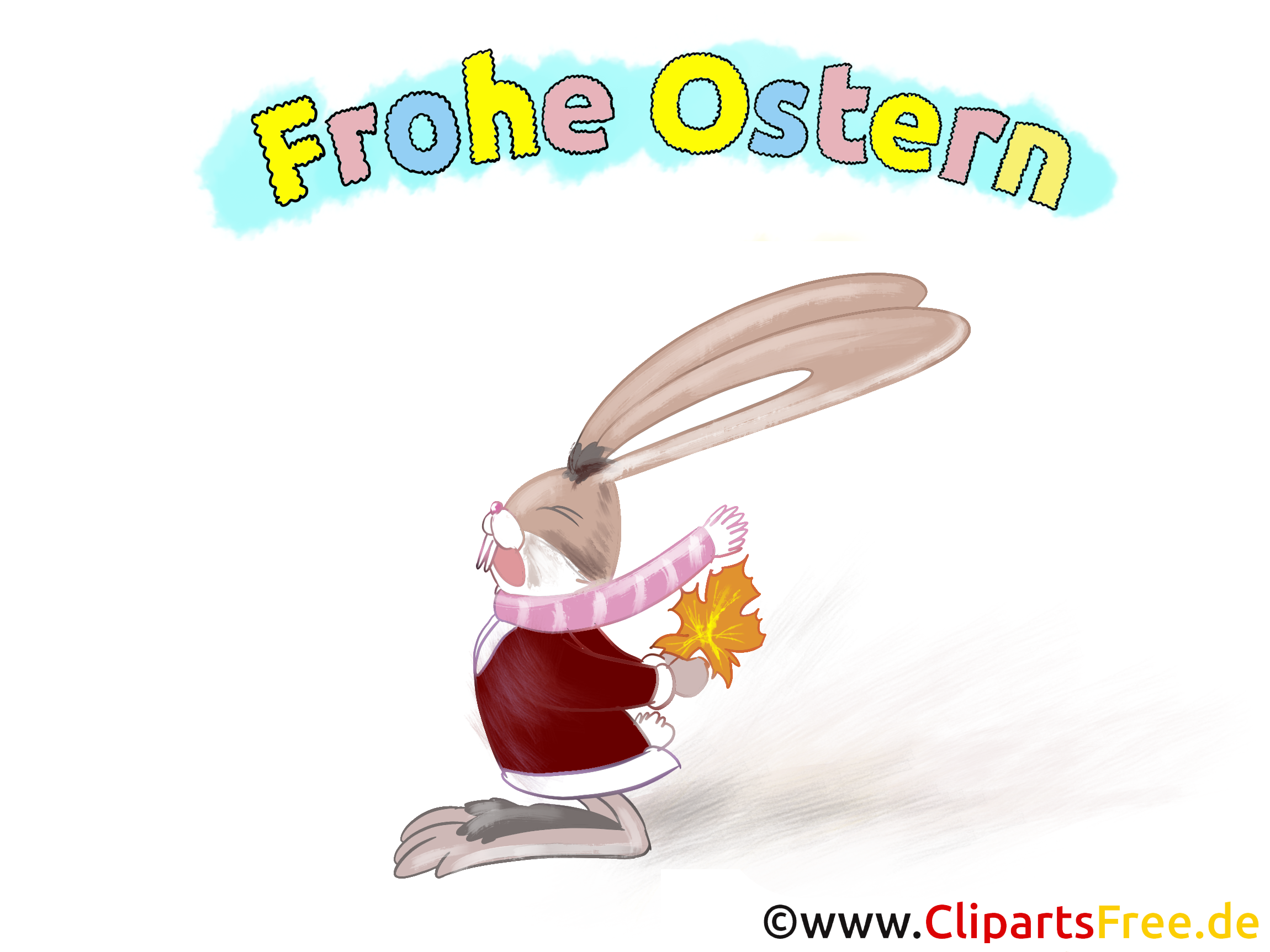 Desktop-Hintergrund Frohe Ostern gratis