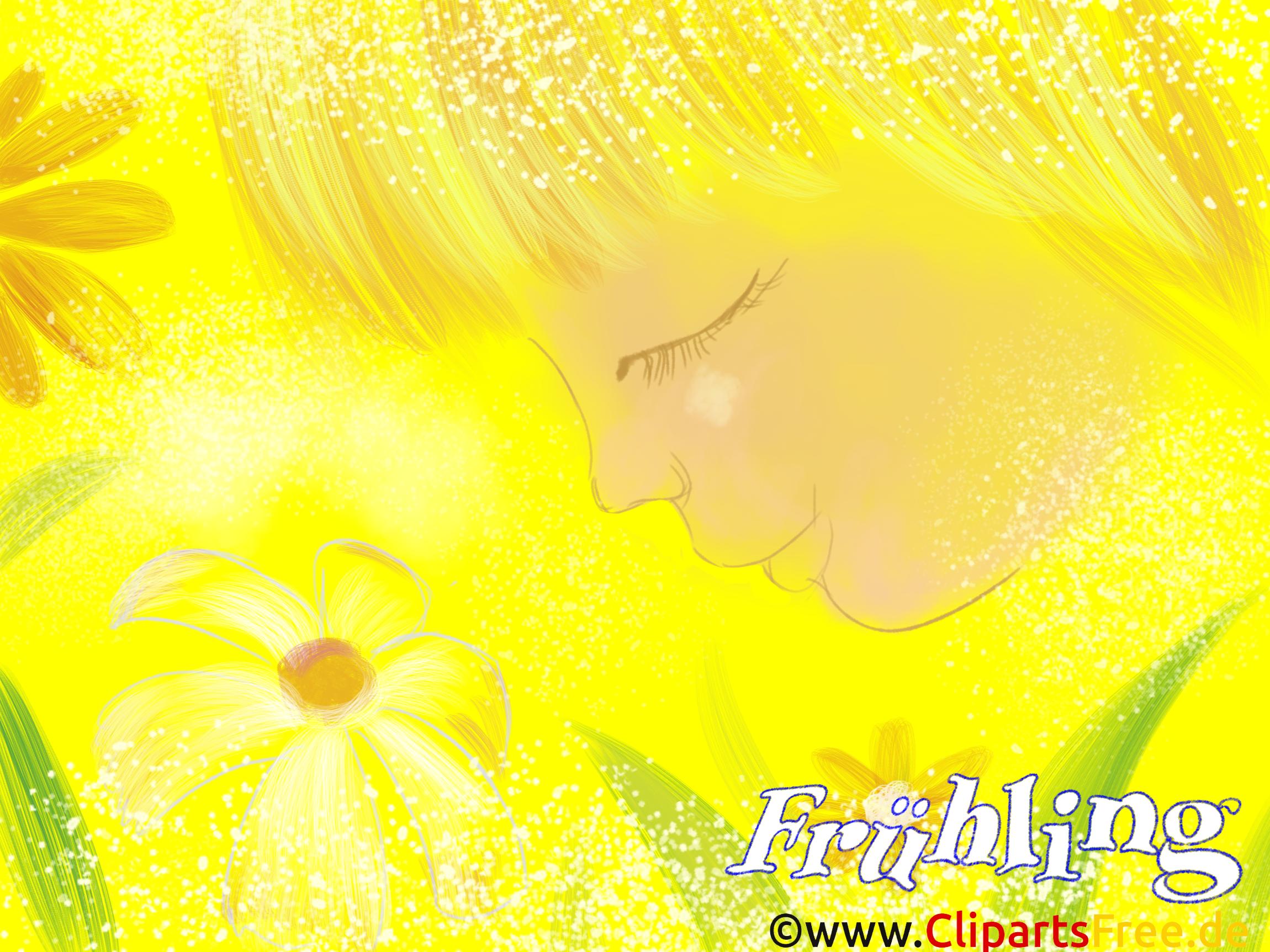Hintergrundbild Frühling