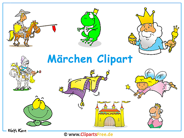 Märchen Cartoon Clipart Wallpaper free