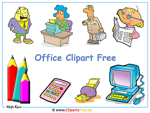 Office Clipart Bilder kostenlos - Wallpaper