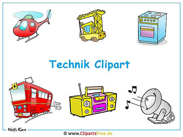 Cliparts zum Thema Technik als Wallpaper herunterladen