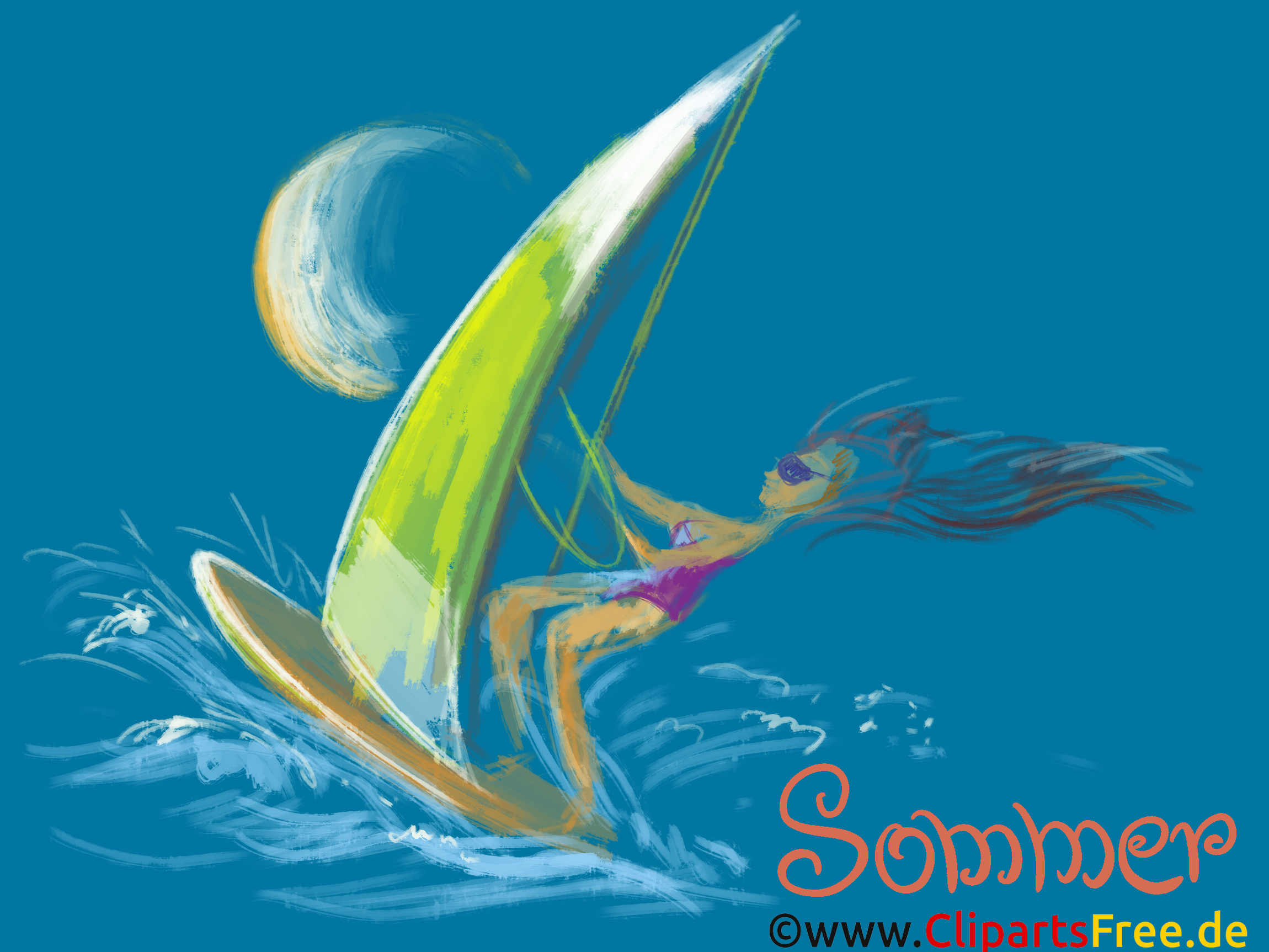 Windsurfing Wallpaper for Computer-Desktop free