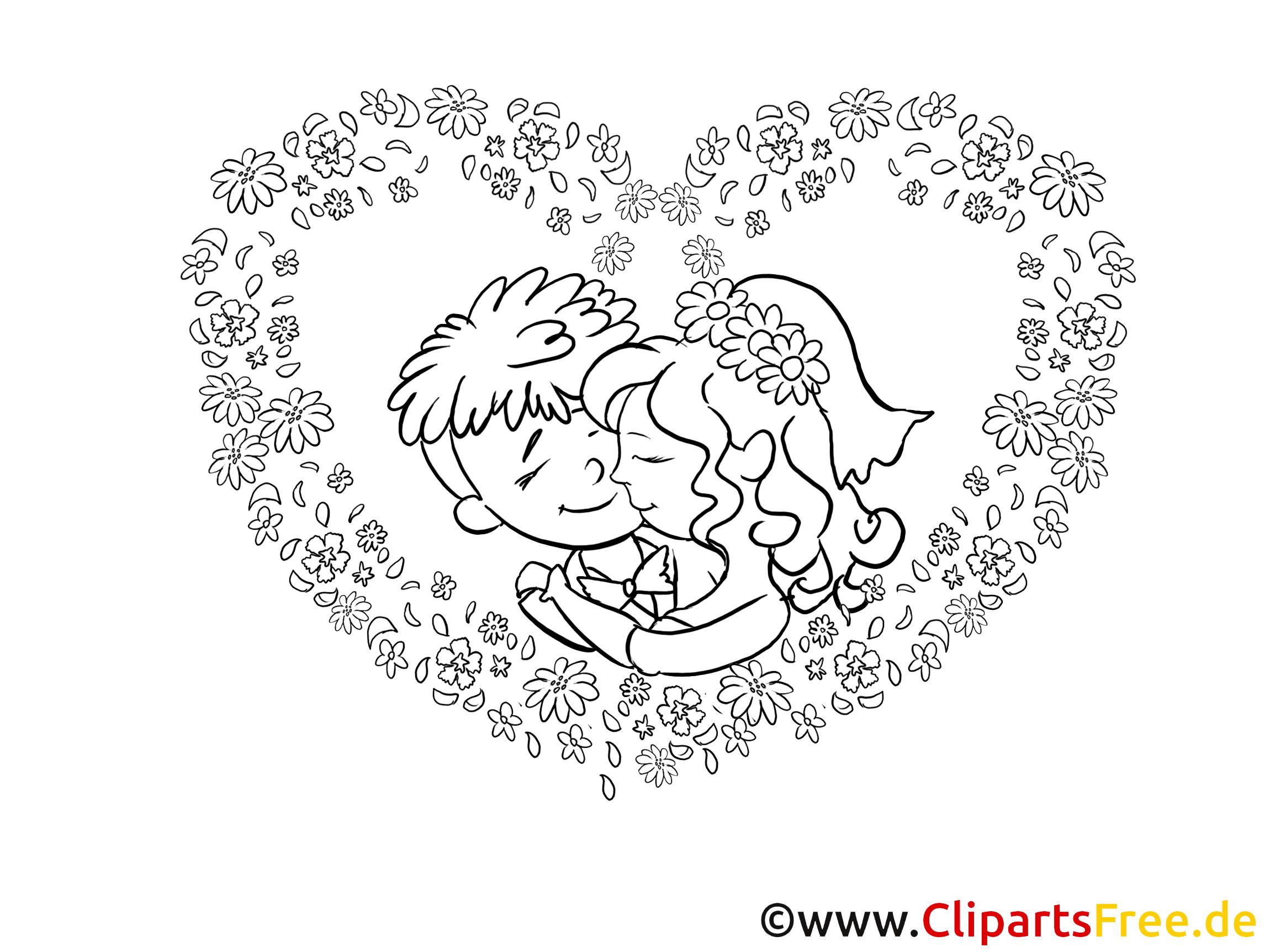 Ausmalbilder Auto Just Married : Hochzeit Bilder Cliparts Gifs Illustrationen Grafiken Kostenlos