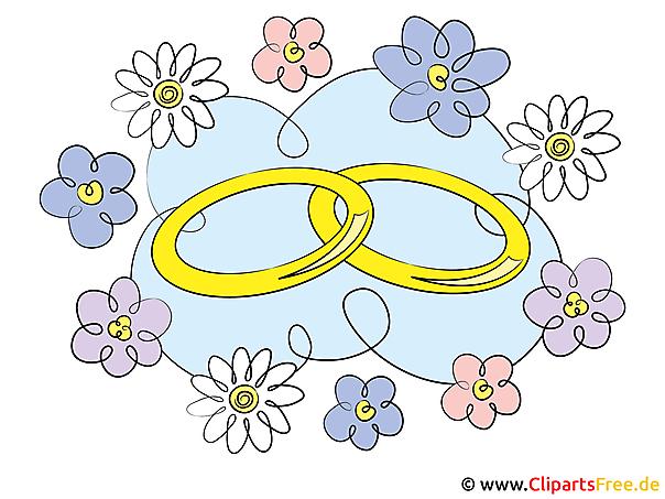 結婚指輪クリップアート