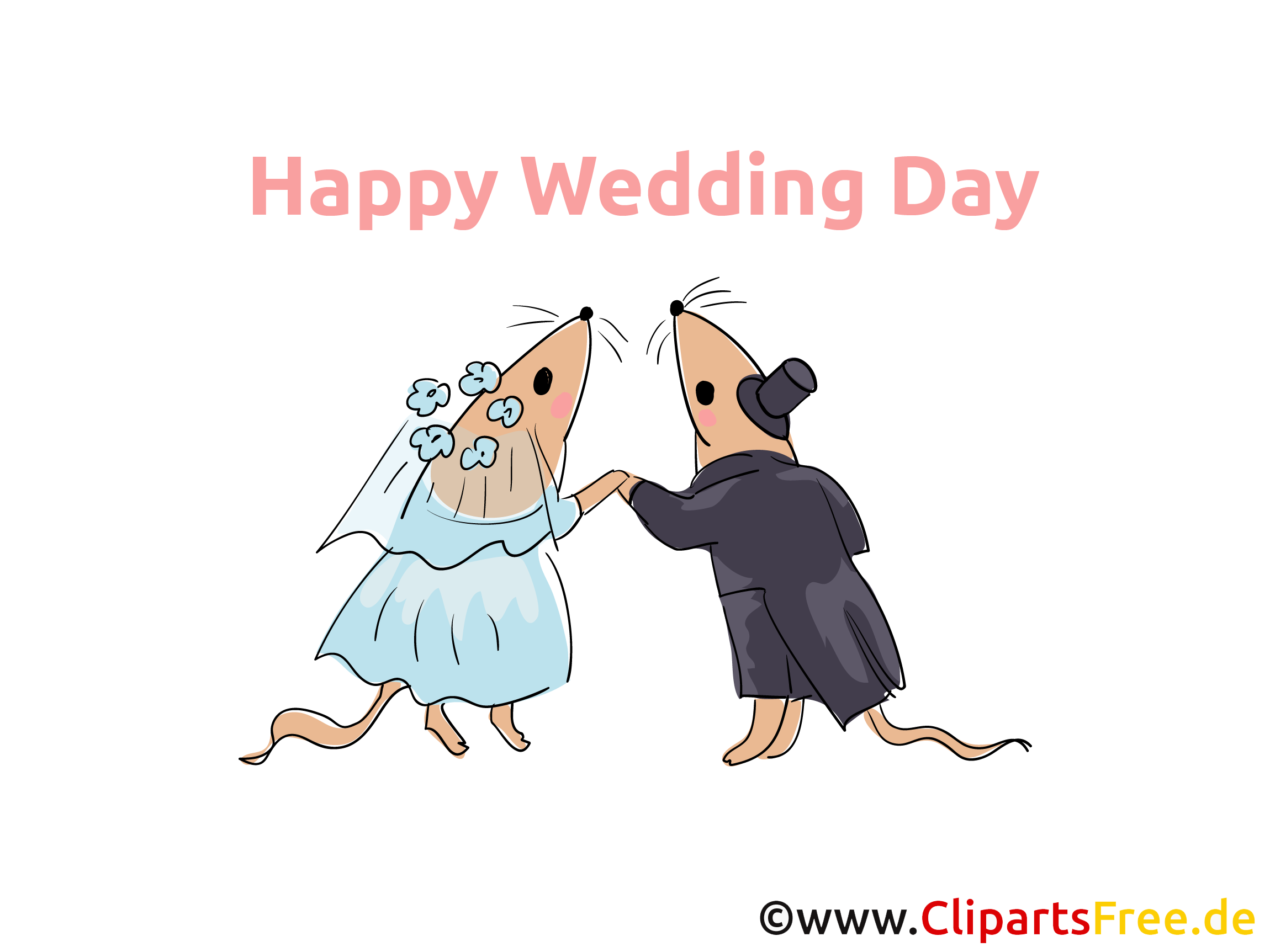 Happy Wedding Clip Art download for free