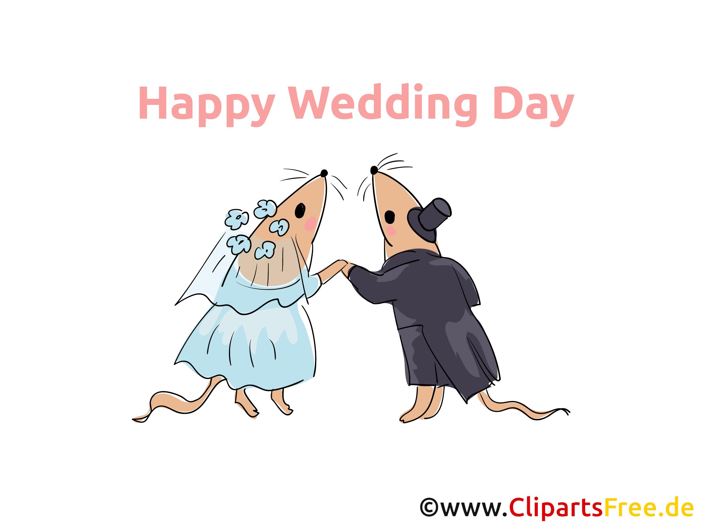 Happy Wedding Clip Art無料でダウンロード