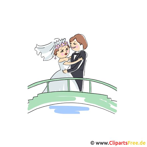 無料の結婚式のクリップアート
