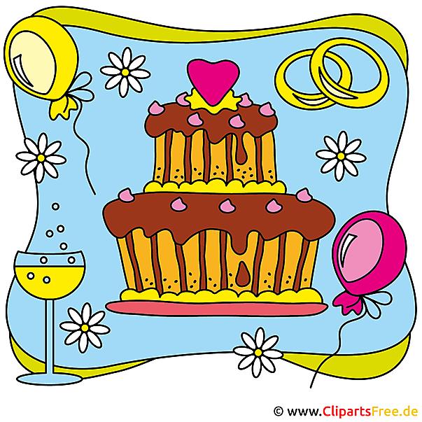 Wedding cake Image Clipartを無料でダウンロード