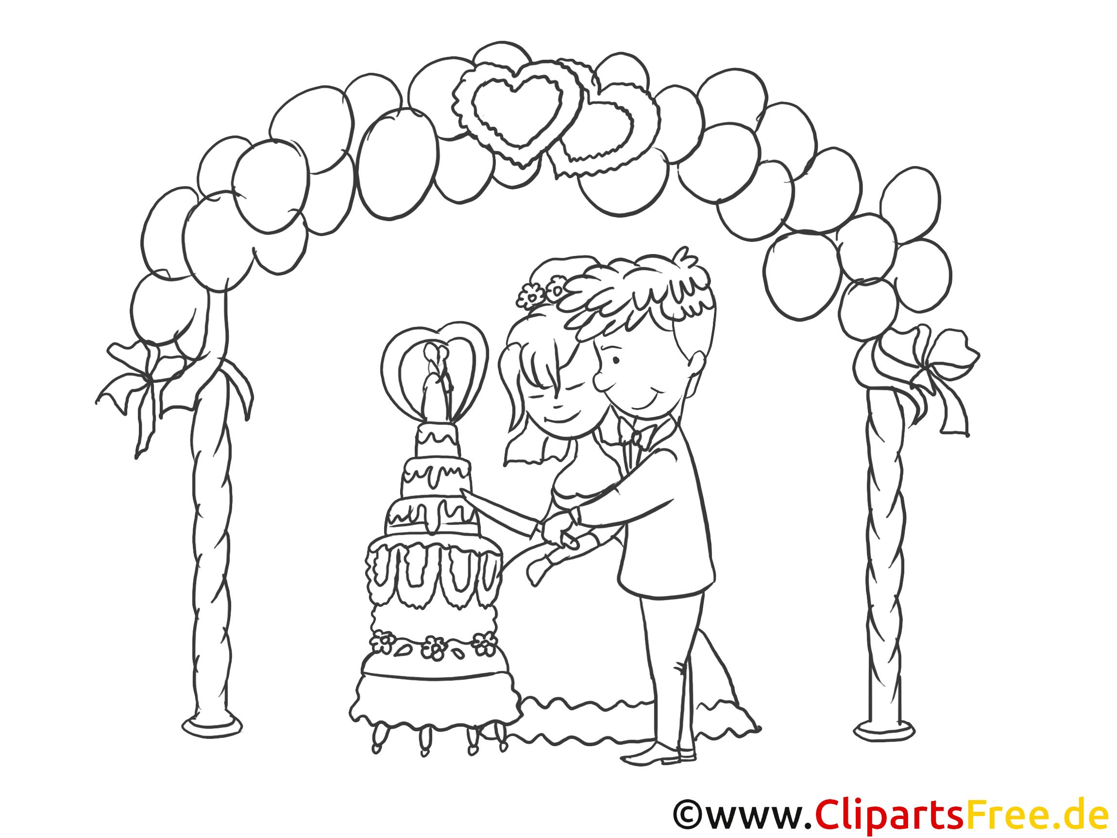 教会の結婚式のクリップアート、デッサン、白黒写真