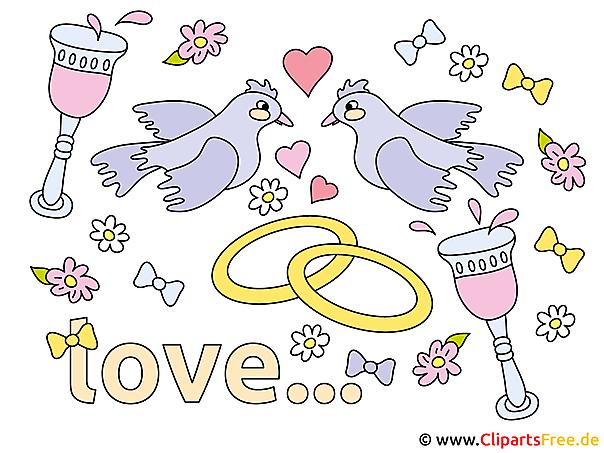 愛のクリップアート
