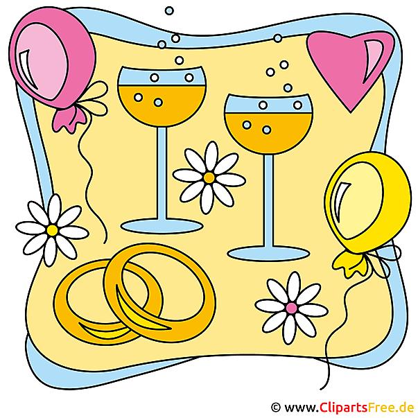Party Clipart Hochzeit