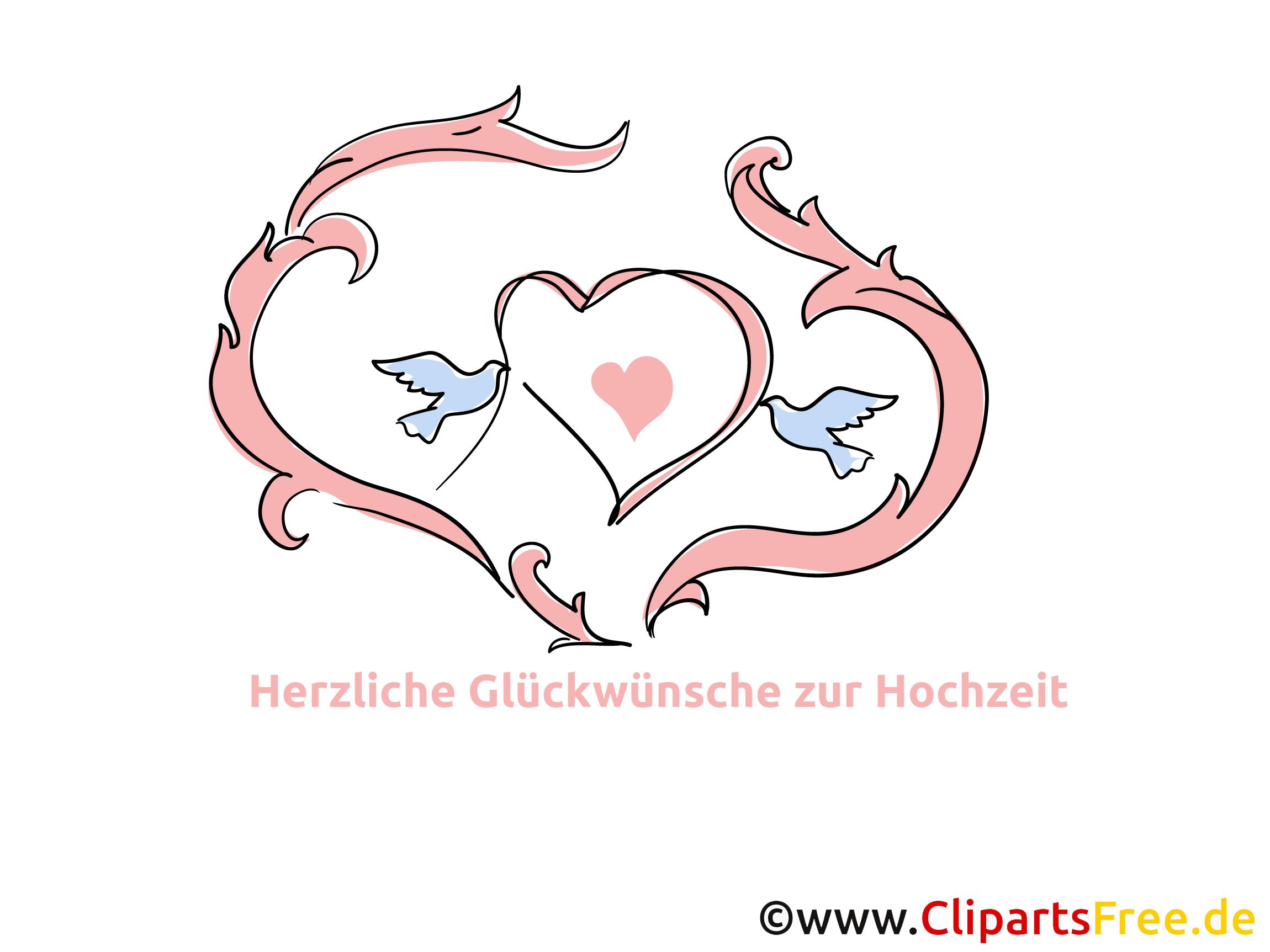 無料のクリップアートハート、愛、結婚式