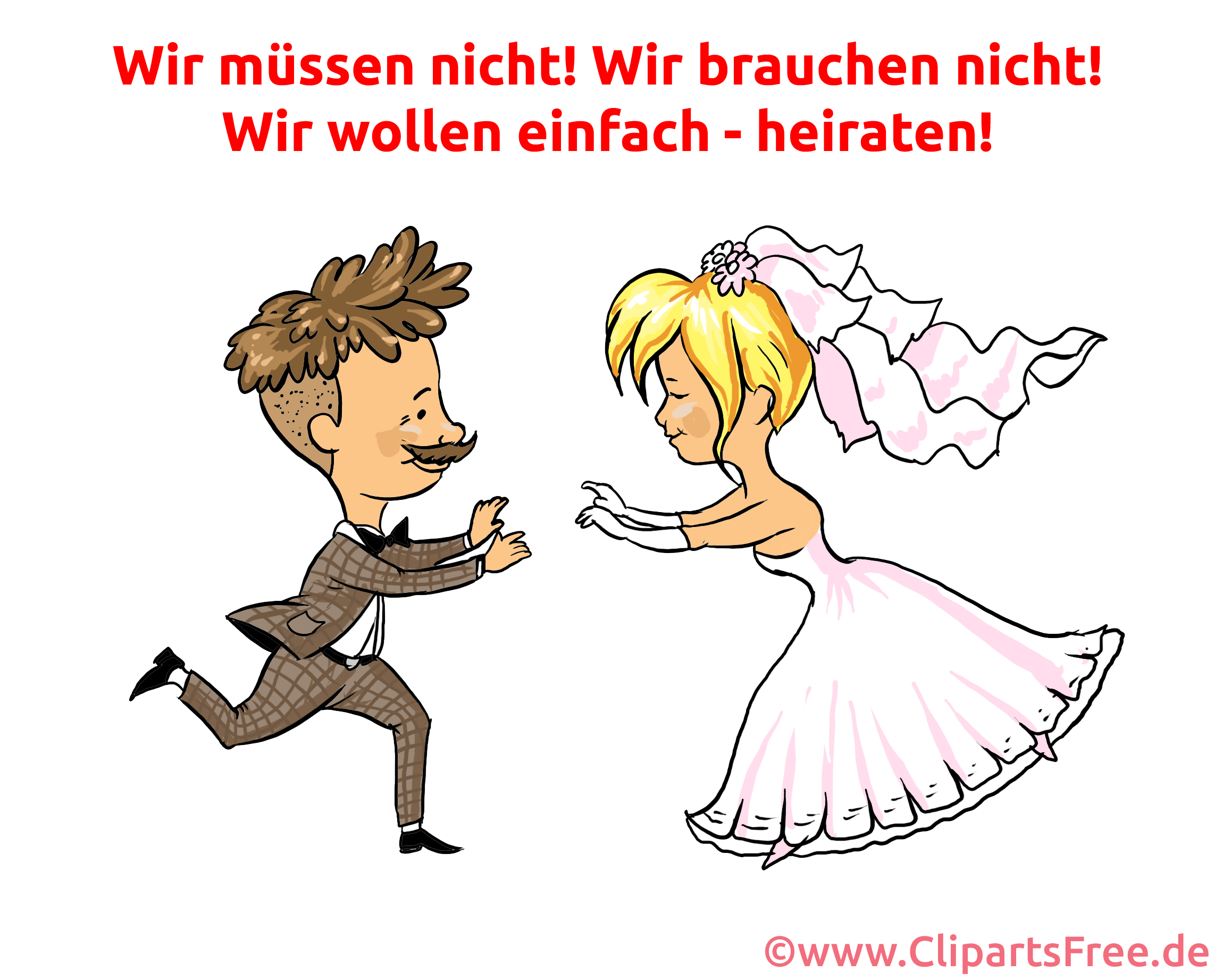 Wedding Clip Art, eCard, Funny Pic