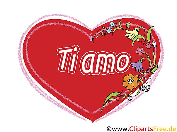 イタリアのグリーティングカード、クリップアート、GB画像、グラフィック、漫画が大好き