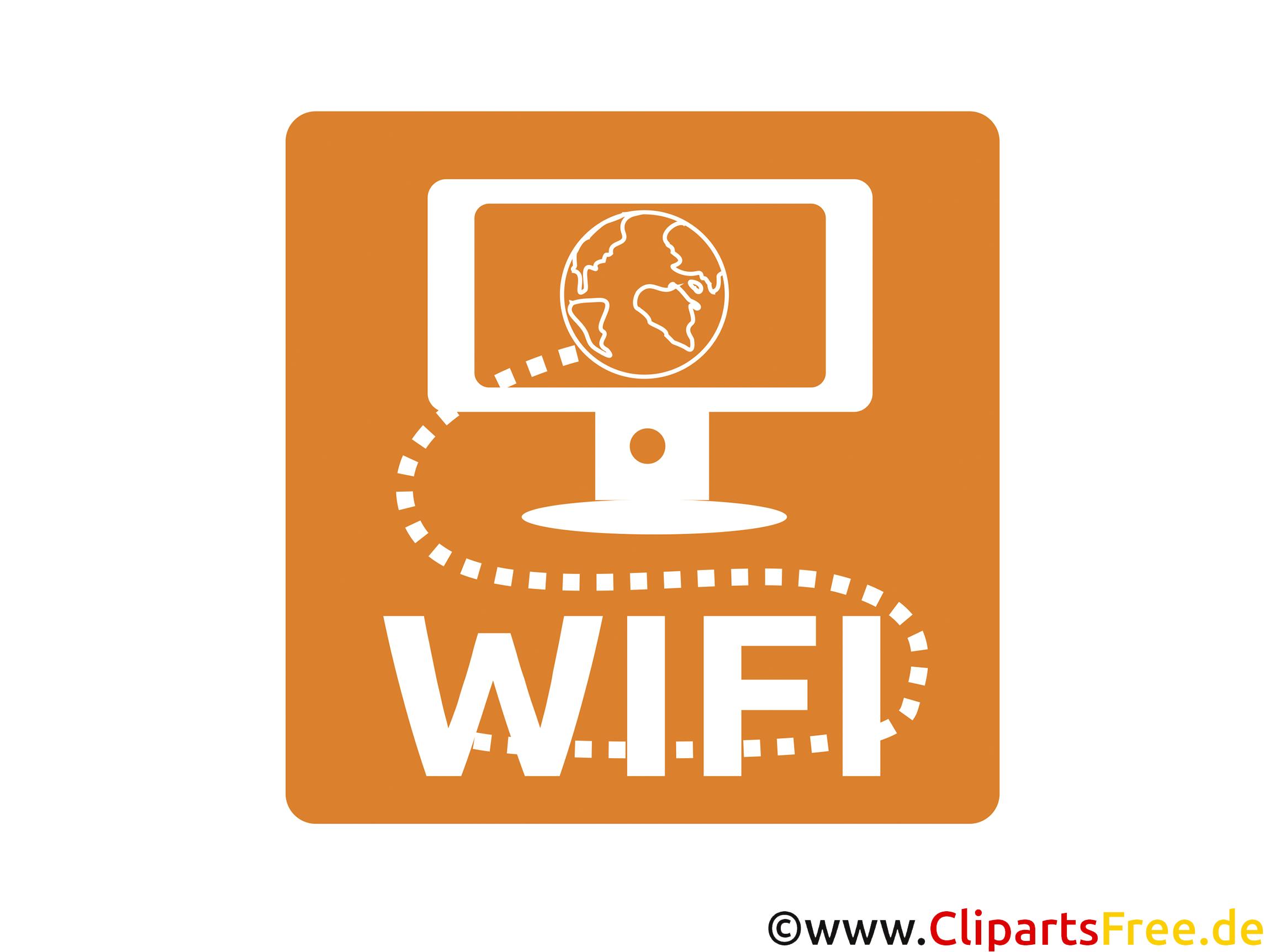 Internet Wifi Icon-Bild