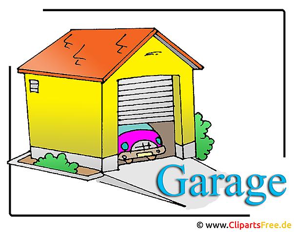 Garage Clipart Bild Free