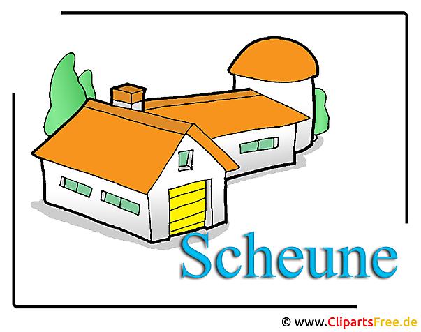 Scheune Clipart free