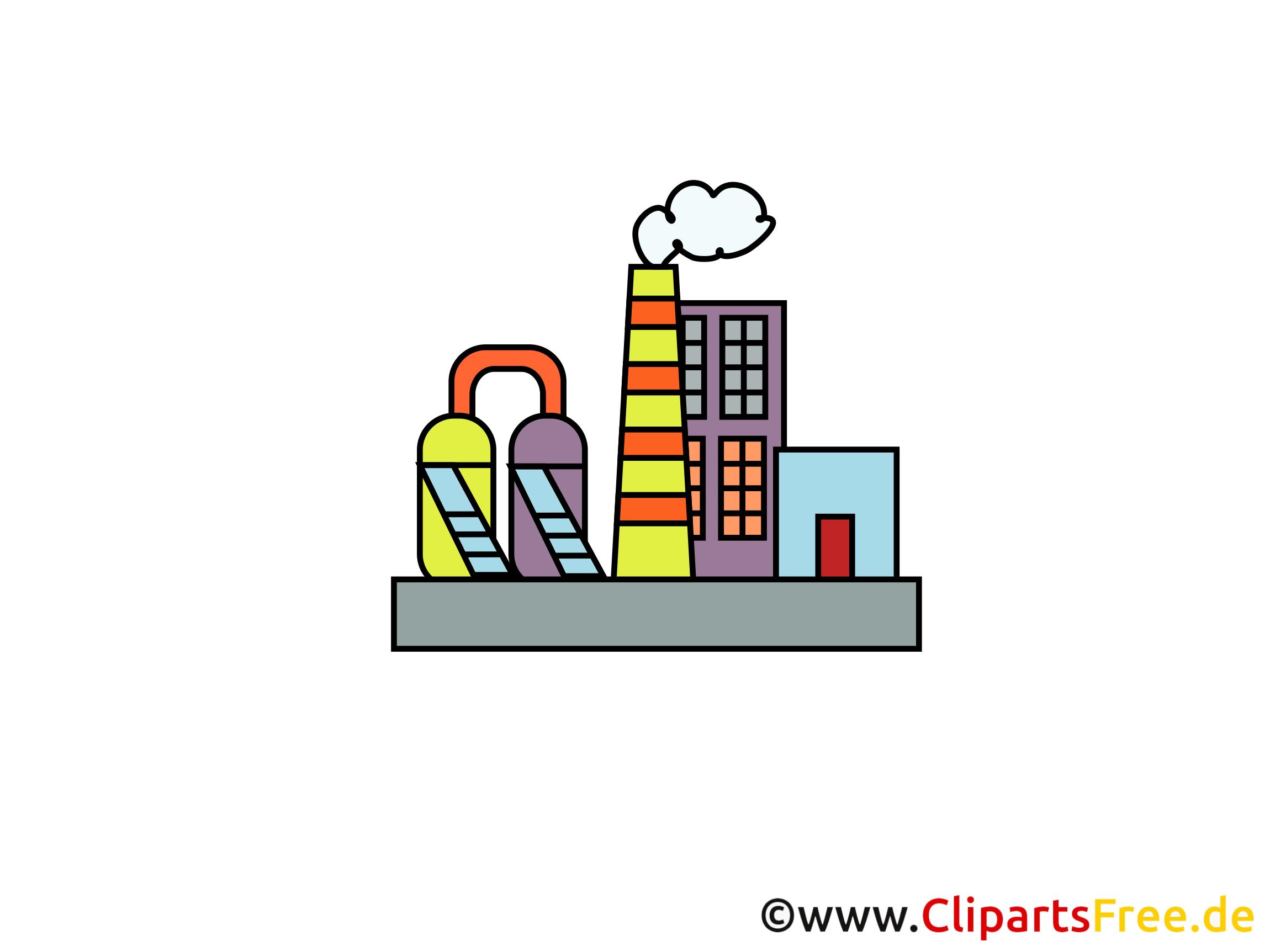 Industrie Illustrationen und Clipart gratis