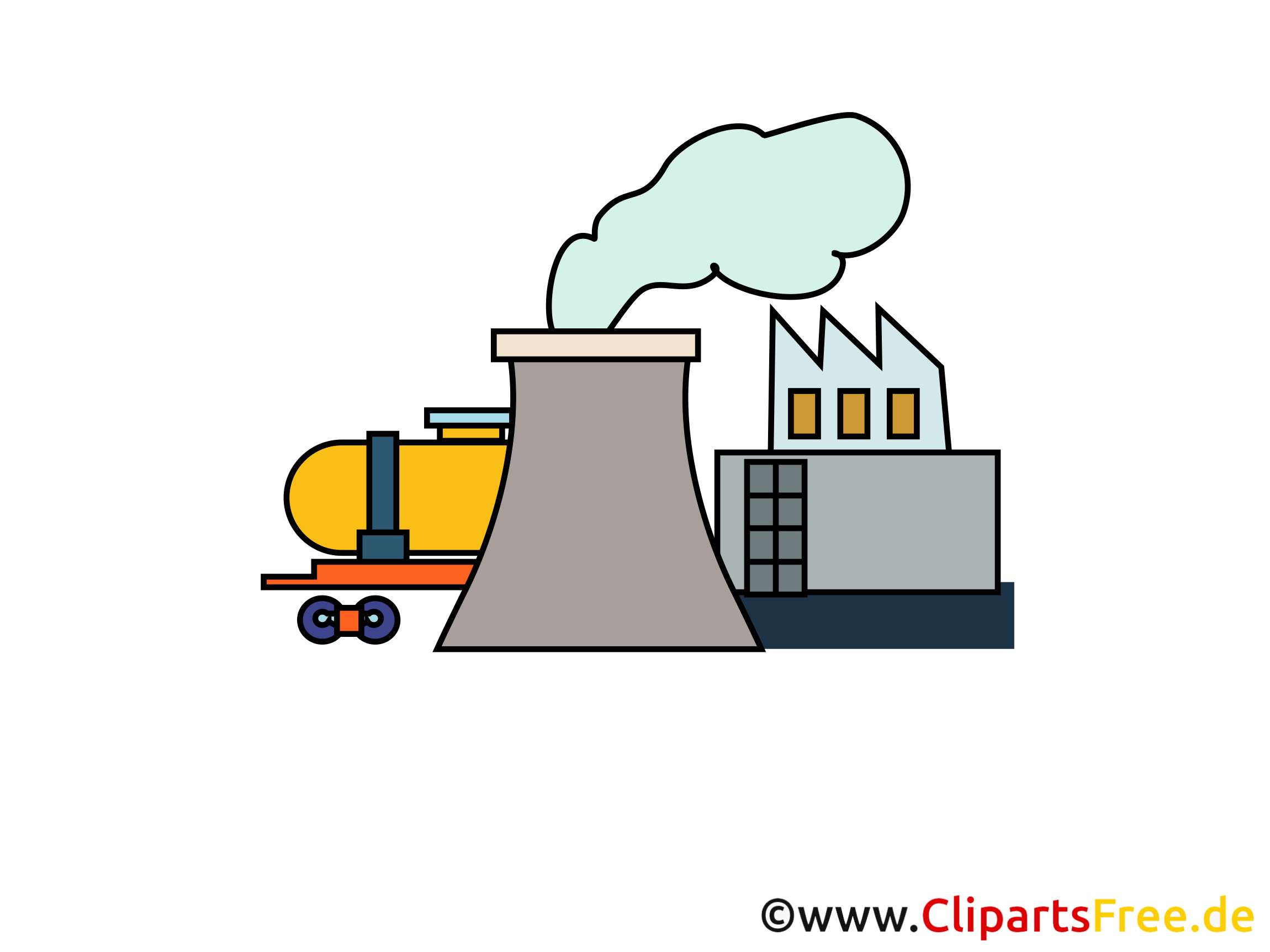 Industry Clipart, Picture, Image