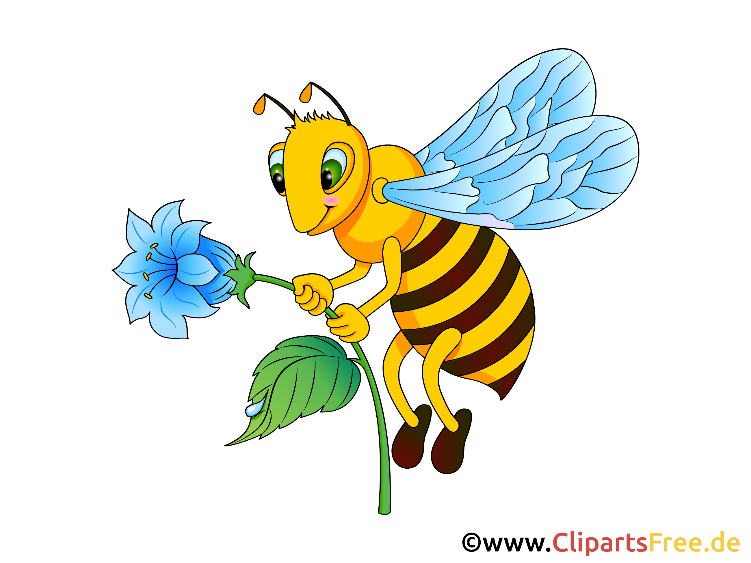 Biene Bild, Clip Art, Illustration, Grafik gratis