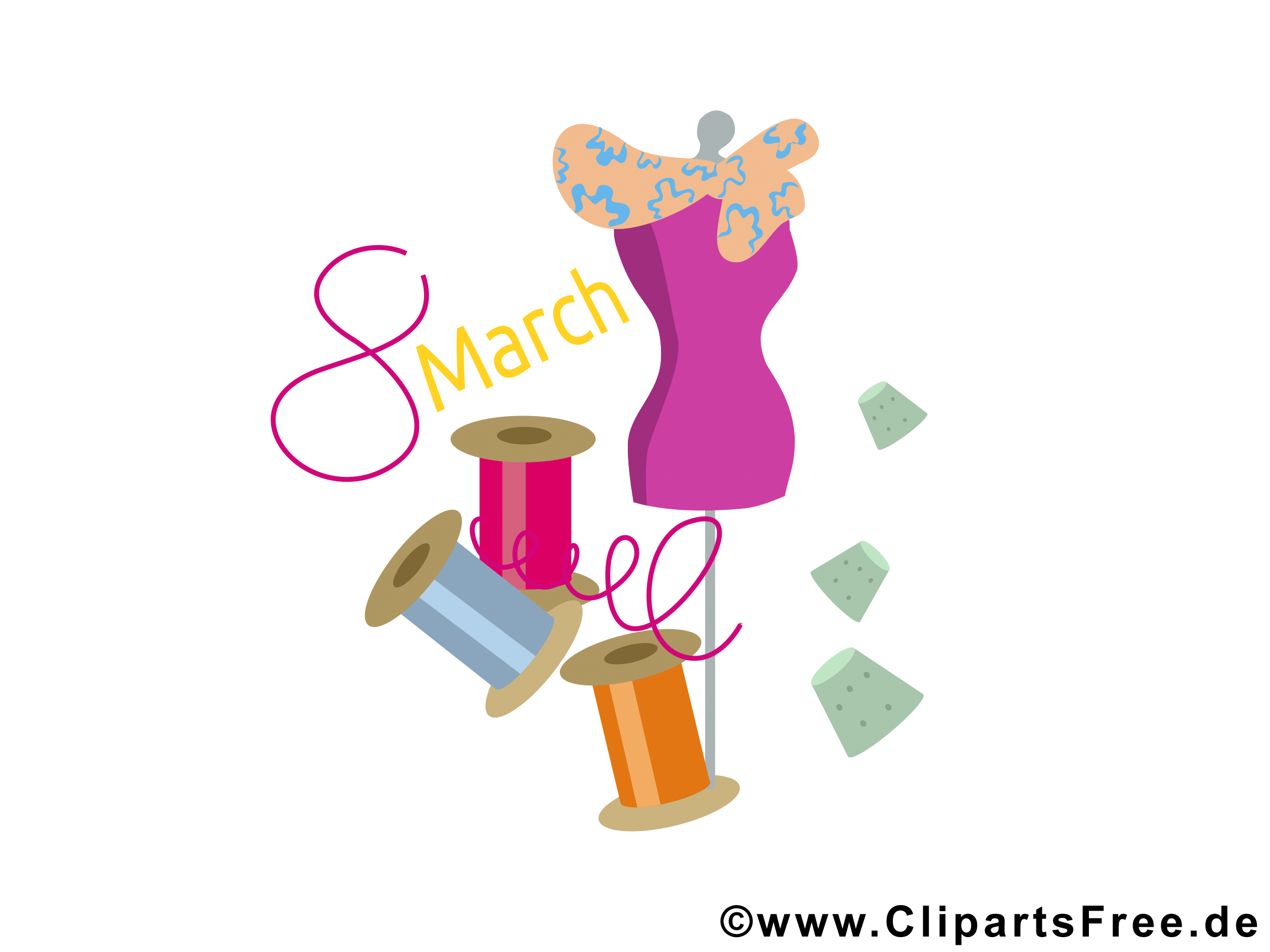Clipart Weltfrauentag