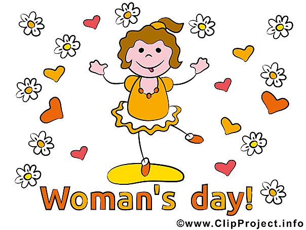 Frauentag Karte