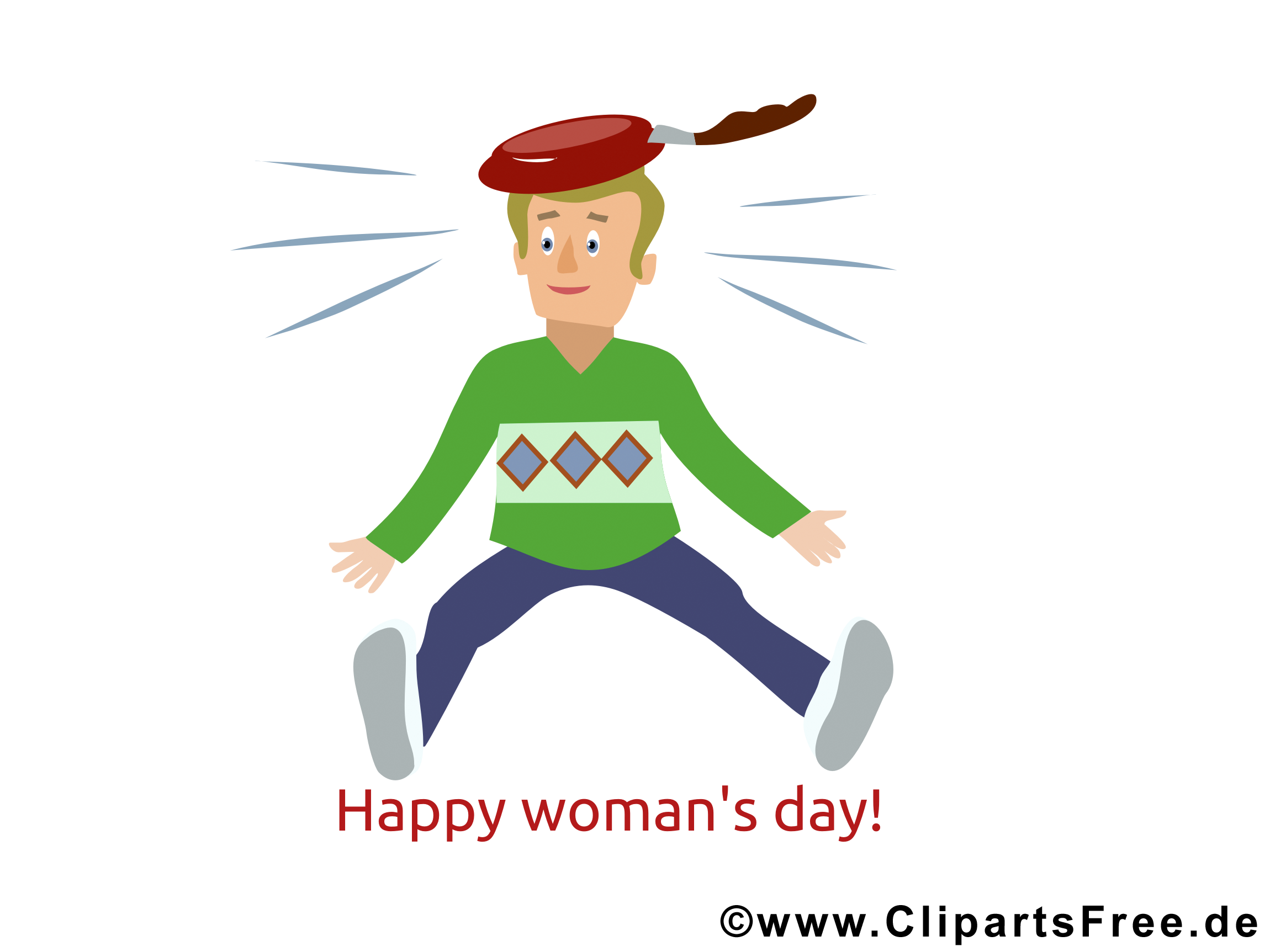Lustige Grüße zum Frauentag