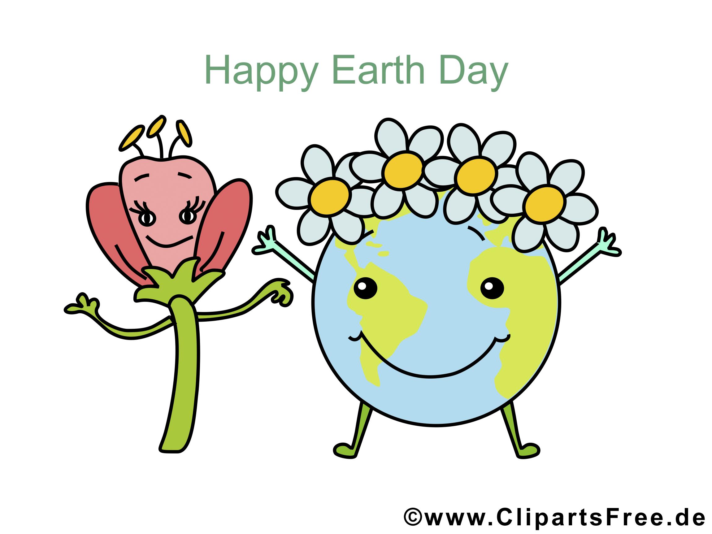 Digitale Grusskarten zum Tag der Erde